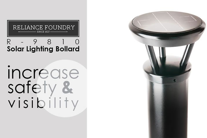 Light your way with environmentally friendly solar lighting bollards