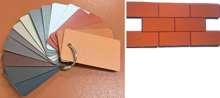 Linetec mimics terra cotta's look and feel in new painted finish