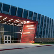 Linetec's clear anodize finishing helps Texas career center withstand constant student use
