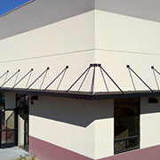 Louvered Aluminum Sunshades from Architectural Louvers