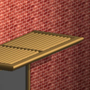 Louvered Sunshades by Architectural Louvers