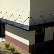 Louvered Sunshades from Architectural Louvers