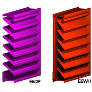 Louvers for Wall Installation