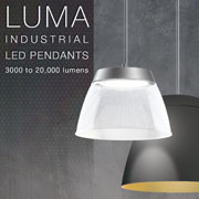 LUMA Industrial LED Pendants