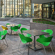Maglin Site Furniture at Bank of America Plaza