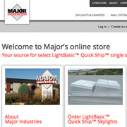 Major Opens New Online Store