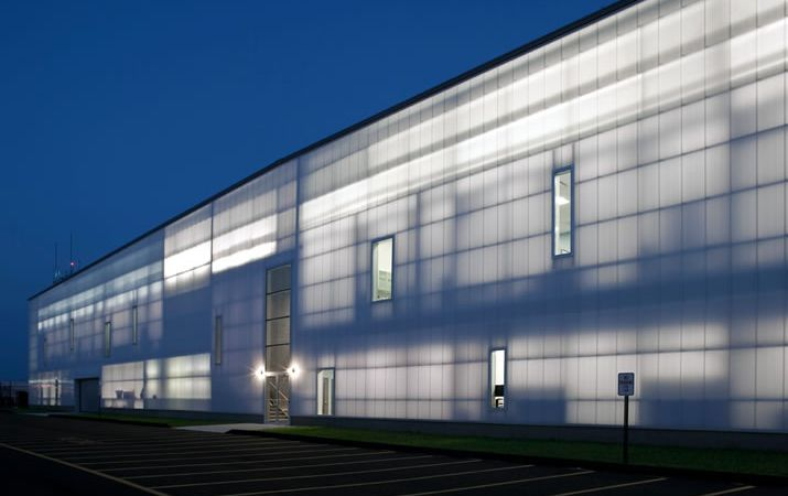 Make your buildings look good with uniquely designed polycarbonate products for building exteriors
