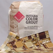 Merkrete Integra All-in-One Thin Set and Grout for River Rock Mosaics