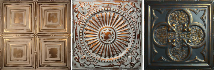 Decorative Metal Ceiling Tiles From Metal Ceiling Express
