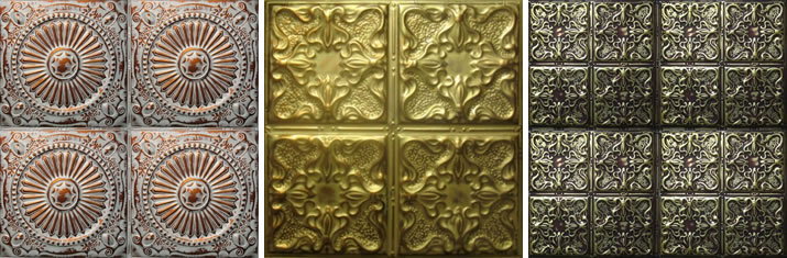 hand faux tin u0026 metal ceiling tiles u0026 panels