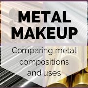 Metal Makeup - Comparing Metal Compositions and Uses
