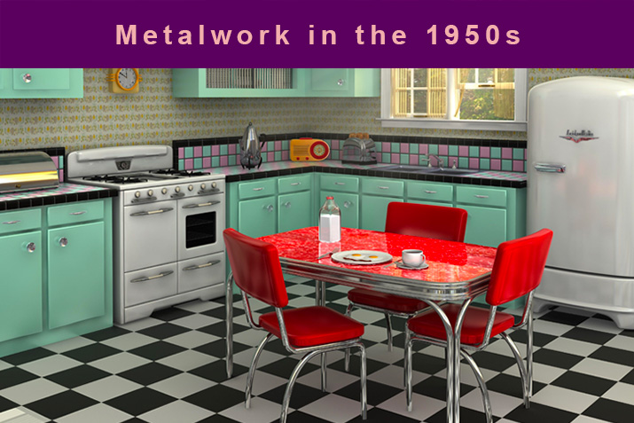 Metalwork in the 1950s