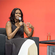 Michelle Obama speaks to A'17 on the impact of design