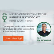 Michigan's Business Beat Highlights Total Security Solutions' Success