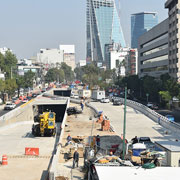 Mixcoac, Insurgentes, Underpass Interchange Project