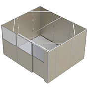 Modular X-Ray Shielding Rooms for Temporary Hospital Sites