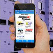 National Gypsum featured in top construction mobile app