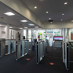NC State University Upgrades Security with New Boon Edam Turnstiles