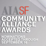 New Community Alliance Awards to Acknowledge Individuals for Contributions to the Built Environment