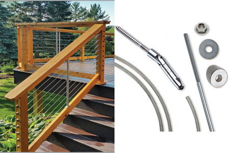 New For 2017: CableRail Stair Kits, Stair Railing Projects Made Easy