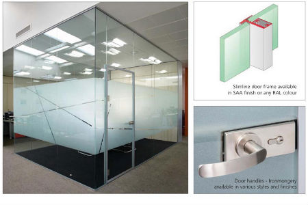 News new from avanti systems 34db acoustic Glass wall door systems