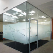 New From Avanti Systems: 34DB Acoustic Glass Door System