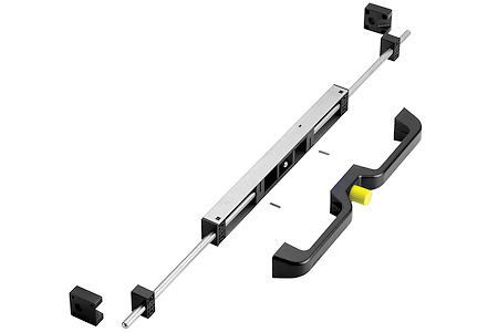 Aecinfo Com News New Locking Handle Kit For Heavy Duty Slides