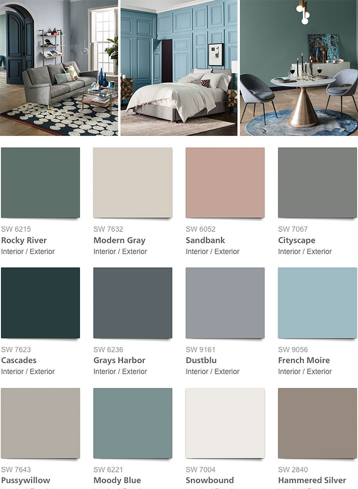 West Elm Fall/Winter 2017 Paint Palette