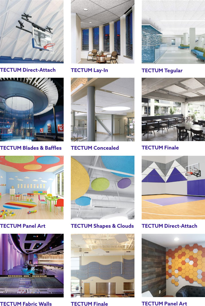 Now from Armstrong ceilings: Tectum wall & ceiling panels