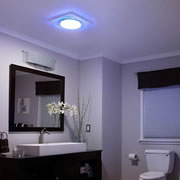 NuTone LunAura Collection Offers First Ambient LED Soft-Glo Ventilation Fans