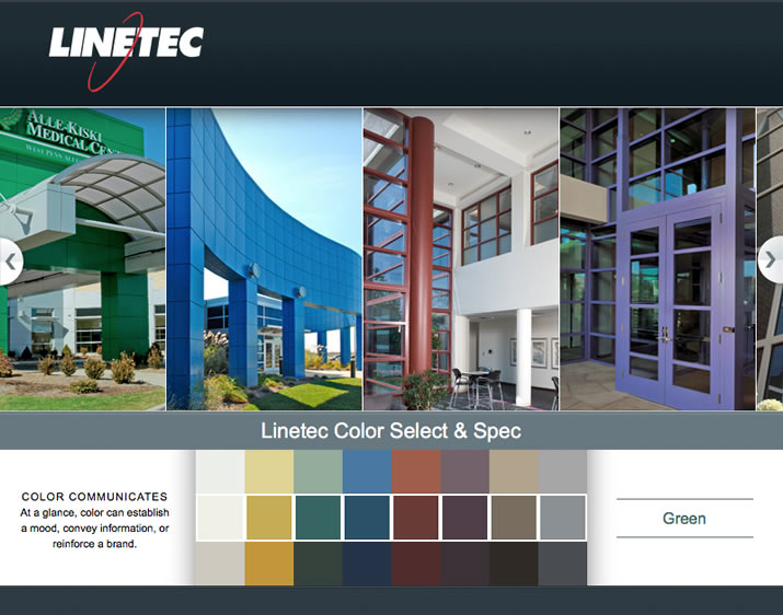 Online Color Selection and Specification Tool