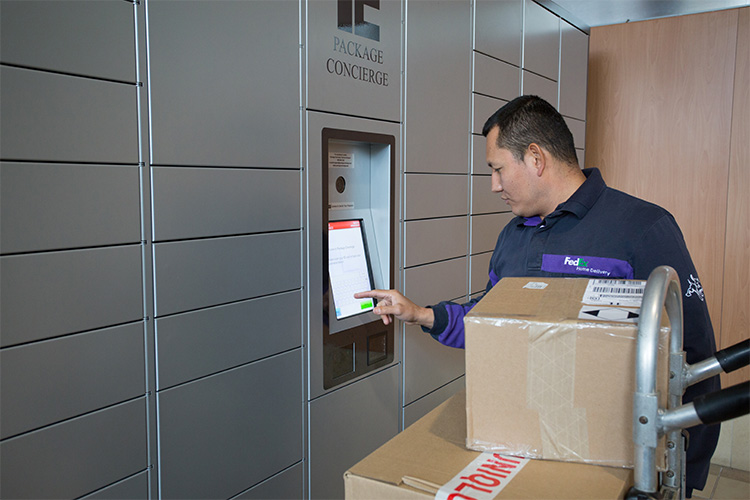 Package volume increase means greater need for automated lockers