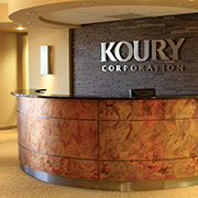 Patina Onyx NuMetal Copper Laminate at Koury Corporation