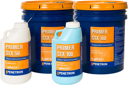 Primers from penetron specialty products on for Latex primer for vinyl flooring