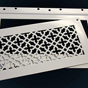 Perforated Grille With J-Bead Frame from Advanced Architectural Grilleworks