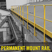 Permanent Guard Rail from Safety Rail Company