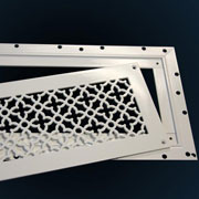 Plaster Jbead Frame for Perforated Grilles