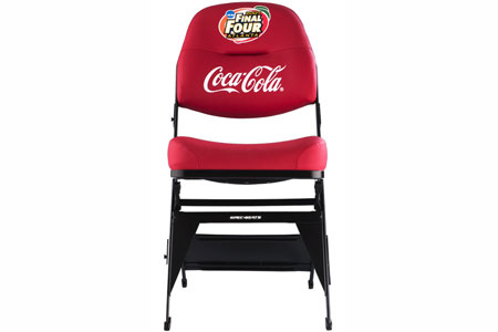 aecinfocom news platinum series ps 100 arena portable folding chairs from preferred seating - Heavy Duty Folding Chairs
