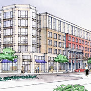 Podium Projects Pose New Challenges: Biltmore Park Town Square
