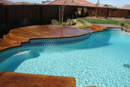 Pool Deck Coating and Finishes