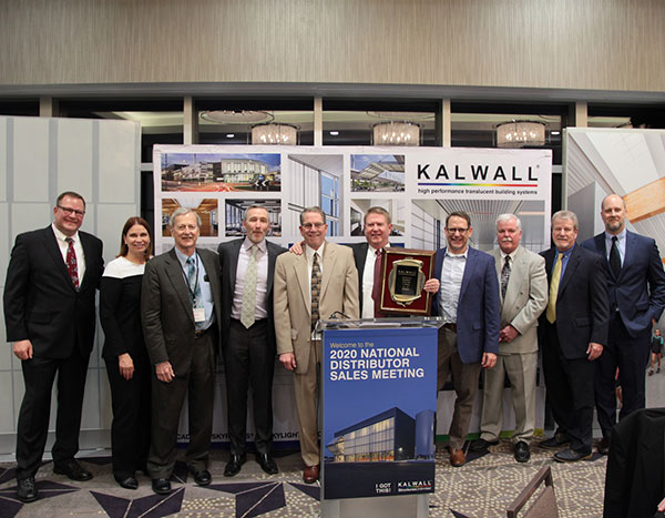 Powers Products Named Kalwall Distributor of The Year