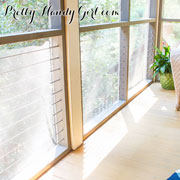 Pretty Handy Girl: CableRail in a screened porch DIY