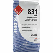 Product From Merkrete: 831 WR Water Resistant Thin Set Adhesive For Tile And Stone