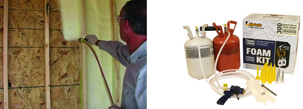 Aecinfo Com News Professional Grade Spray Foam Insulation