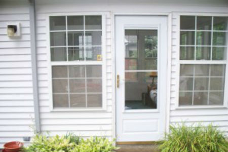 News project from innovate building solutions for Double hung patio doors