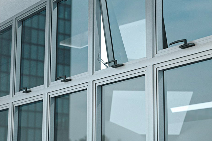 Purpose built with accessibility in mind: GLASSvent® UT Windows now feature ADA-compliant operators