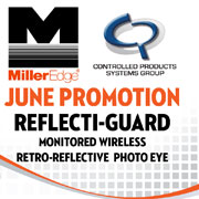Reflecti-Guard Retro-Reflective Photo Optic Sensor Mounting Options