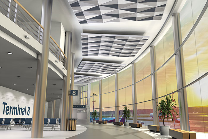 Reinvent the Ceiling Plane with New DESIGNFlex Ceiling Systems from Armstrong
