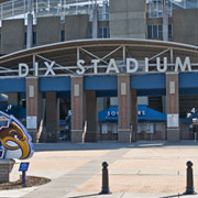 Reliance Foundry Bollards Used At Kent State's Dix Stadium