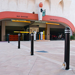 Removable Bollard Receivers - a comparison of removable mounting options